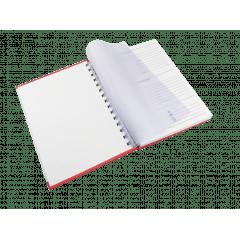 Agenda Comercial Anual  2020  Personalizada 14x20cm -  Miolo Personalizado